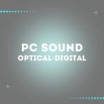 PCのサウンドを光デジタル対応のコンポで聴く方法。接続方法など