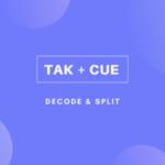 可逆圧縮ファイルの【TAK+CUE】をWAVに変換して分割する方法